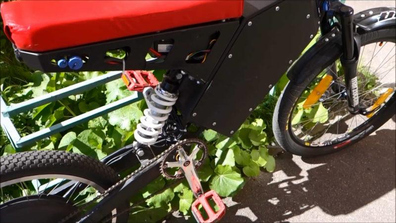 Электро-велосипед с мотор колесом Дуюнова 2.0